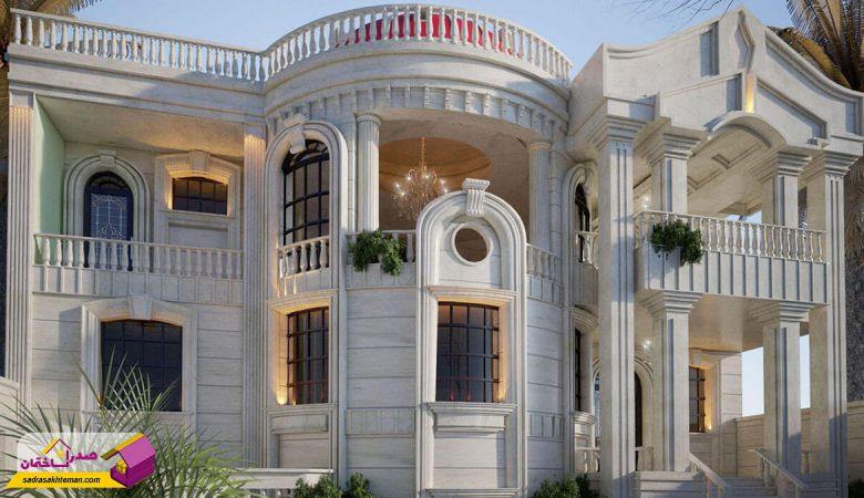 طراحی و اجرای نما ساختمان در شیراز